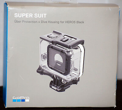 New/Genuine GoPro Super Suit Protection & Dive Housing for HERO5 Black