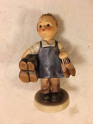 """Vintage Hummel by Goebel, Boots 5"""" tall #143/0"""