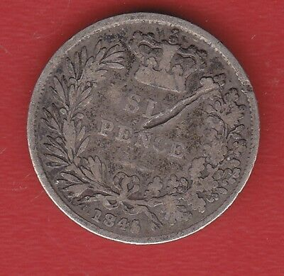Great Britain 6 Pence 1845 Silver