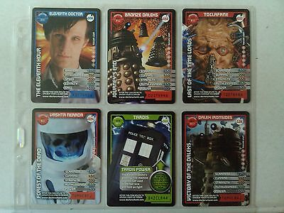 Doctor Who Monster Invasion 12 Super Rare 3D Card Lot B.B.C.MAGAZINE