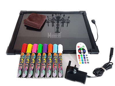 Sensory LED light up drawing/writing board toy for special need, autism, ADHD
