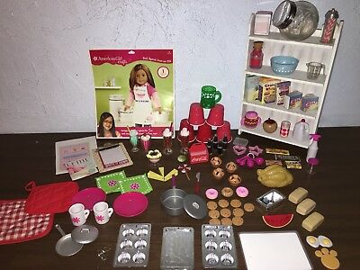 american girl doll Food & accessories lot