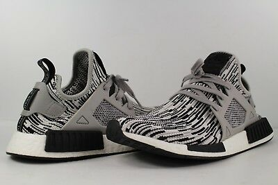 8e2faa1984fc2 Double Japan Tabs adidas NMD Xr1 PK White Glitch Mens US 6.5