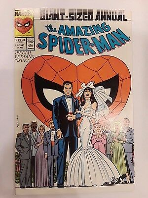 The Amazing Spider-Man Annual #21 (1987, Marvel)