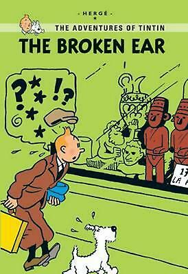 The Broken Ear by Herge (English) Paperback Book