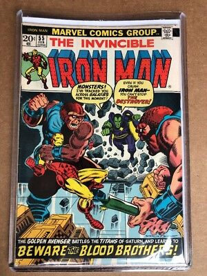 IRON MAN #55 (1972) 1st Appearance Of Thanos & Drax - Nice Shape! See Pics