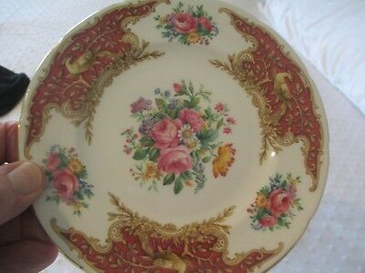 """Beautiful Foley Bone China 15 1/2Cm Side Plate - Pattern Is """"montrose"""" (Floral &"""