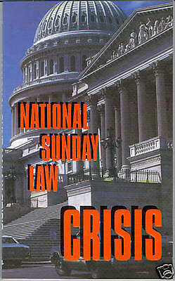 NATIONAL SUNDAY LAW CRISIS BOOK~PROPHECY~CHURCH & STATE~Mark of the Beast~NWO