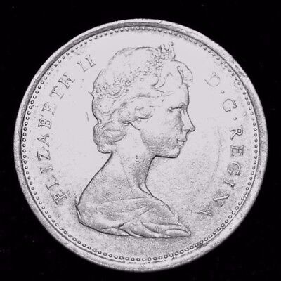 1968 Silver Canadian Quarter 50% Silver Content XF Great Details