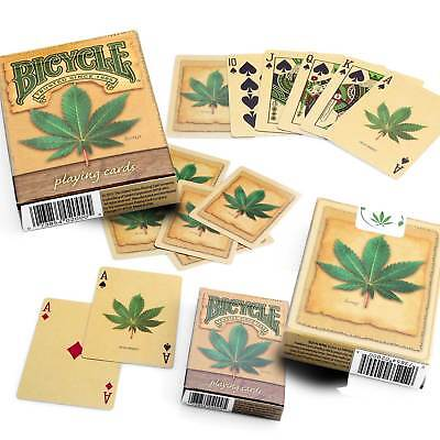 Bicycle Hemp Playing Cards Single Deck Stunning Design Poker Magic Sealed New