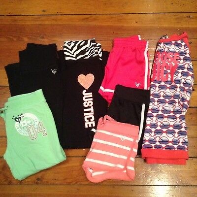 Girls Justice Clothing Lot Size 6/7