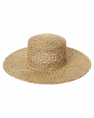 New Lack Of Color Women's The Sunnydip Straw Hat Soft Natural