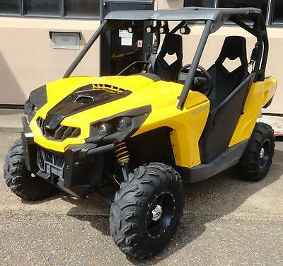 2012 Can-am Commander 1000  760 Miles TONS OF UPGRADES Never Mudded CLEAN