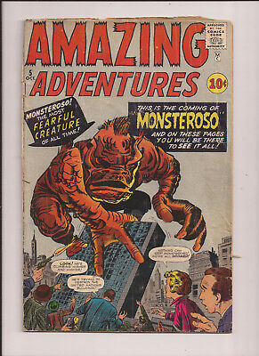 Amazing Adventures #5  -  1961.....ditko.....good