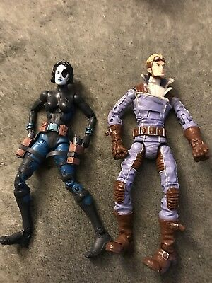 Marvel Legends Cannonball And Domino Action Figures Near Mint And New In Box!!!!