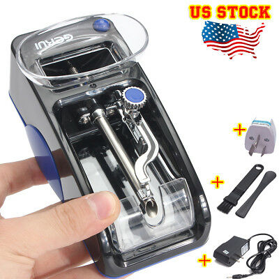 DIY Cigarette Rolling Machine Electric Automatic Injector Tobacco Roller Maker