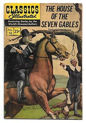 Classics Illustrated #52 The House of the Seven Gables (1968) HRN 166 GD/VG 3.0