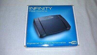 Infinity IN-USB-2 Dictation Transcription Foot Pedal Control