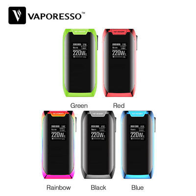 220W Va-poresso Revenger X 220W TC Box with OLED 0.96 Inch Display No Battery