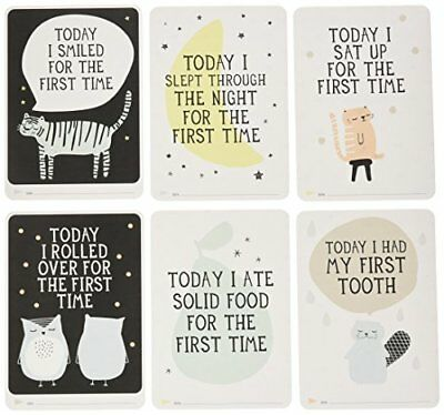 Milestone-Baby Photo Cards Over The Moon One Size