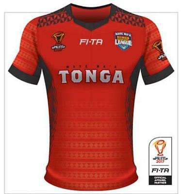 2017 World Cup Rugby Tonga Jersey