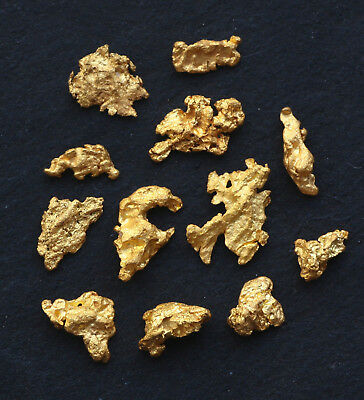 Natural Western Australia GOLD NUGGETS 2.04 grams