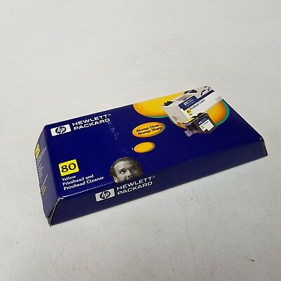 HP 80 Yellow Printhead and Printhead Cleaner C4823A to suit 1050C 1055CM