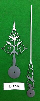 Antique clock hands from original design (Longcase clock) LC16 *Made in England*