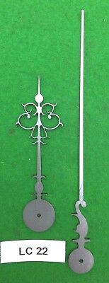 Antique Clock Hands from Original Design- Early Longcase- LC22 *Made in England*