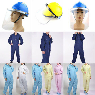 Anti-static Piece Siamese Overalls Suits Protective Clothes Auto Repair Clothing