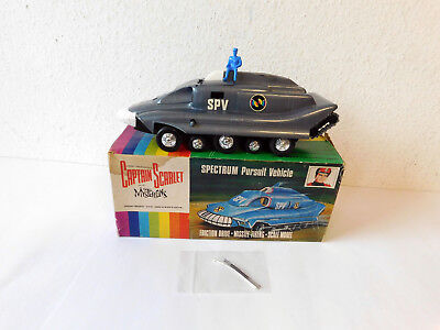 "25 cm langes ""CAPTAIN SCARLET"" SPECTRUM PURSUIT VEHICLE im OK, Bastlerware"