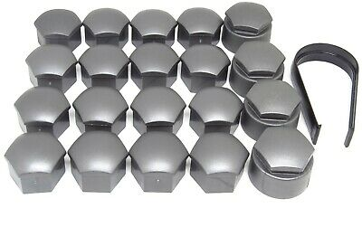 NEW GENUINE AUDI A2 A3 A4 A5 A6 A7 Q5 17mm WHEEL NUT BOLT LOCKING COVERS CAPS