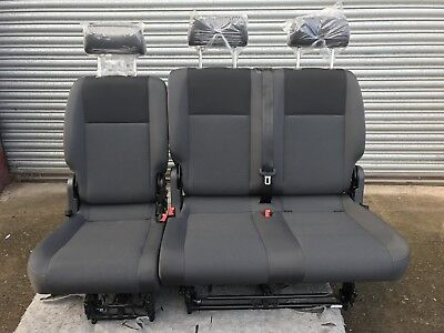 New VW Caddy rear 2&1 seats  With Isofix floor fixings  included