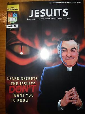 The Jesuits: Shocking Truth You Might Not Get Anywhere Else~Comic Book~J.T.C.