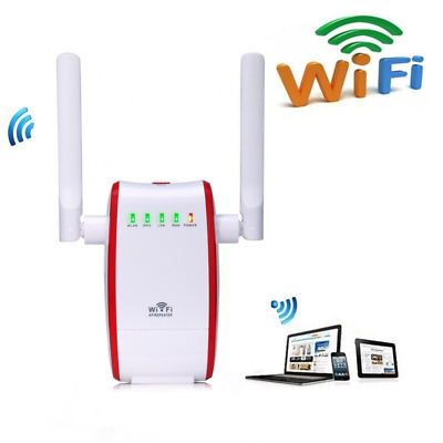300Mbps WiFi Router Long Range Extender 2.4GHz WiFi Repeater Signal Amplifier Bo