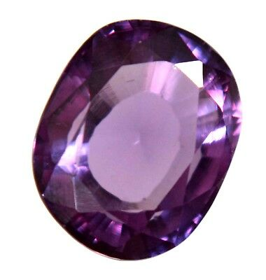 Natural Purple To Blue Changing Sapphire 8.55 Ct AGSL Certified Oval Cut Gem