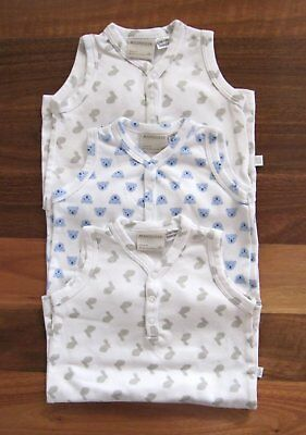 RRP: $74.85 Three NEW Baby Boy Size 0 (6-12 Mths) MARQUISE Summer Jumpsuits