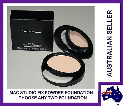 32X MAC Studio Fix Powder Plus Foundation 100% Authentic CHOOSE ANY TWO