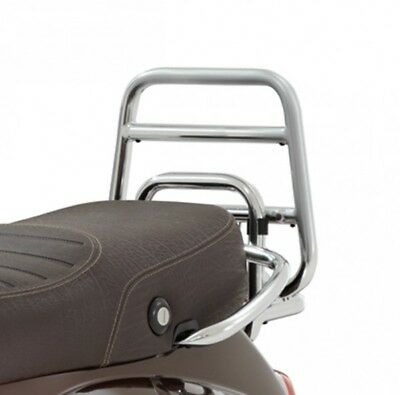 Vespa LX LXV 50 125 150 Rear Chrome Luggage Carrier New RRP £210.14!!! 624616