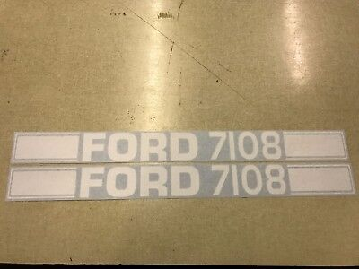 Ford 7108 Loader Decals