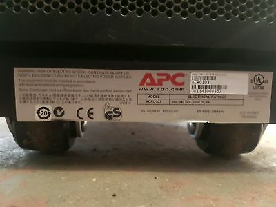 APC ACRC103 InRow RC Cooling System Network