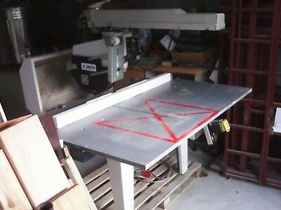 Radial Arm Saw very good condition. 3 Phase . sold to private buyer