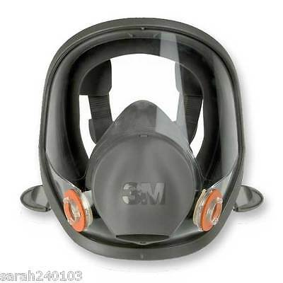 3M 6900 Large Full Face Mask Respirator 6000 Series & FREE PAIR OF 6038 FILTERS