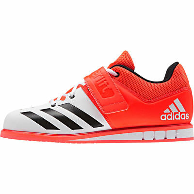 Adidas Powerlift 3 Unisex Flexible And Lightweight Weightlifting Shoes-White/Red