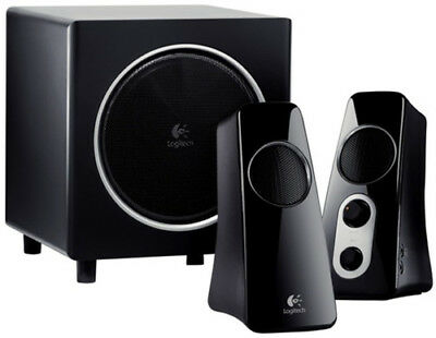 Logitech 980-000319 Z523 Speaker System with Subwoofer - - Wired - 40 Watts