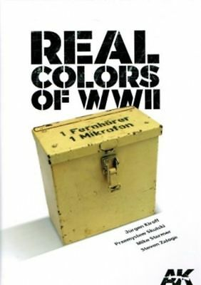Real Colors of WWII (Vehicles) - AK Interactive