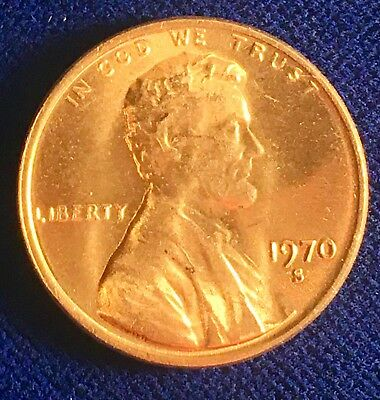 1970-S BU Small Date Penny