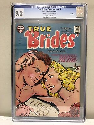 True Brides' Experiences #11 Cgc 9.2 Nm- High Grade! File Copy!