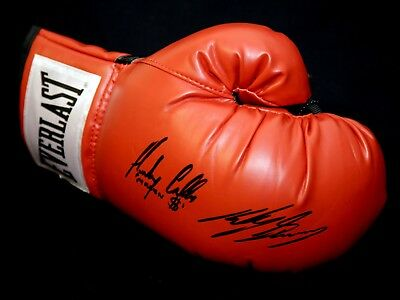 *New* Ricky Burns And Anthony Crolla Dual Signed Everlast Boxing Glove.