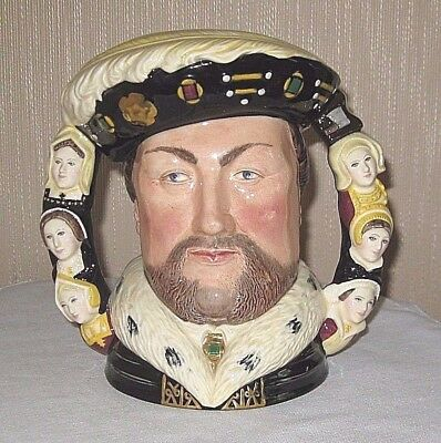 Royal Doulton King Henry VIII and His Six Wives Character Jug D6888 Limited Ed